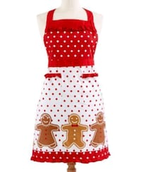 Martha Stewart Holiday Apron Desert Hot Springs