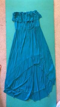 Size large teal dress Edmonton, T5T 3S4