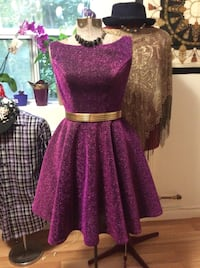 Purple dress (original design)  Cambridge, N1S 1N6