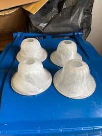 Free light fixture covers and mirror