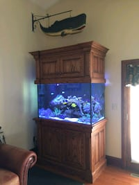 Custom Solid Wood Fish Tank Stand Plumsted Township, 08533