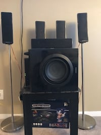 Black sony home theater system Edmonton