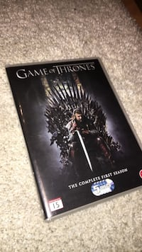 Game of Thrones Sesong 1 DVD Greåker, 1719