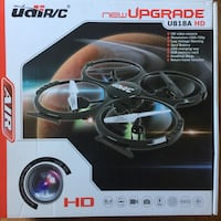 Drone UDI U818A 2.4GHz HD with 4GB SD Centreville, 20120