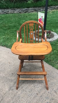 Oak High Chair Woodbridge, 22193