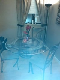 Table and Wine rack..too big for our apt!!! Abbotsford, V2T 2G9
