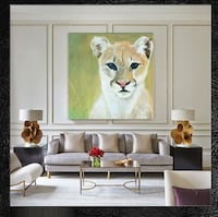 lioness painting 4x4feet Acrylic  Heber City, 84032