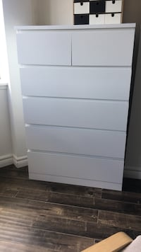 Ikea Malm 6 drawer chest / dresser (TWO AVAILABLE) Mississauga, L5B 3K1