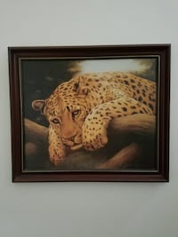Artistic Collections Leopard print on Canvas
