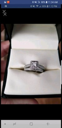 silver-colored diamond ring San Diego, 92113