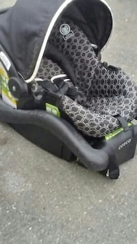 baby's black Cosco car seat carrier Surrey, V3S 1X6