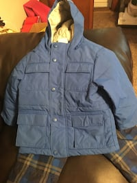Snow suit blue zip-up with matches big pants Madison, 18444