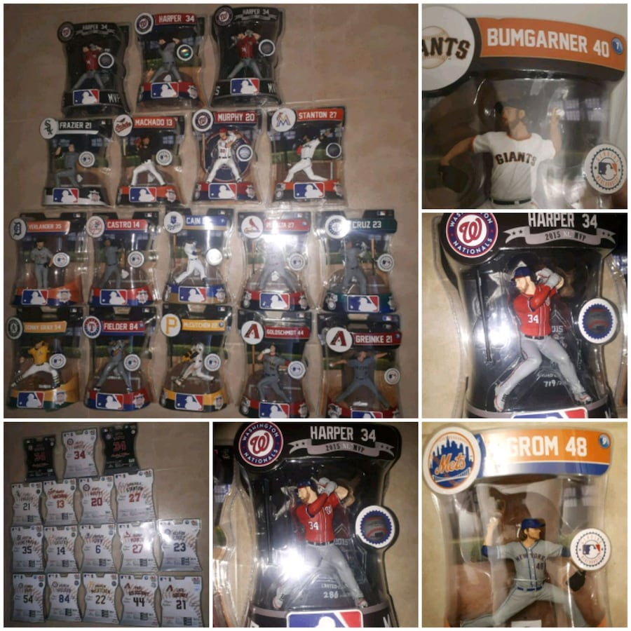 MLB Figures Lot * Sports Collectibles