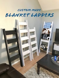 Blanket Ladder Custom Made Any Color or Stain  San Antonio, 78240