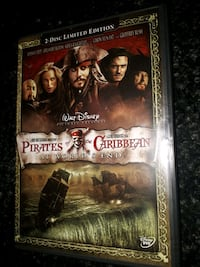 Pirates of the Caribbean, dvd