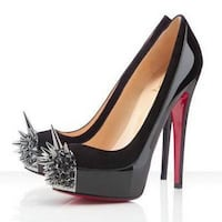 Asteroid Christian Louboutin Black Patent Shoes Burnaby, V5C 3M9