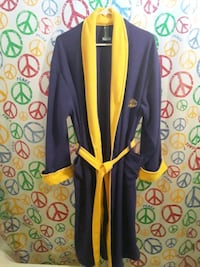 Men's NBA Lakers Robe Purple and Gold Size Medium Good Condition