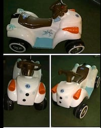 Disney frozen quad electric car with new battery and charger
