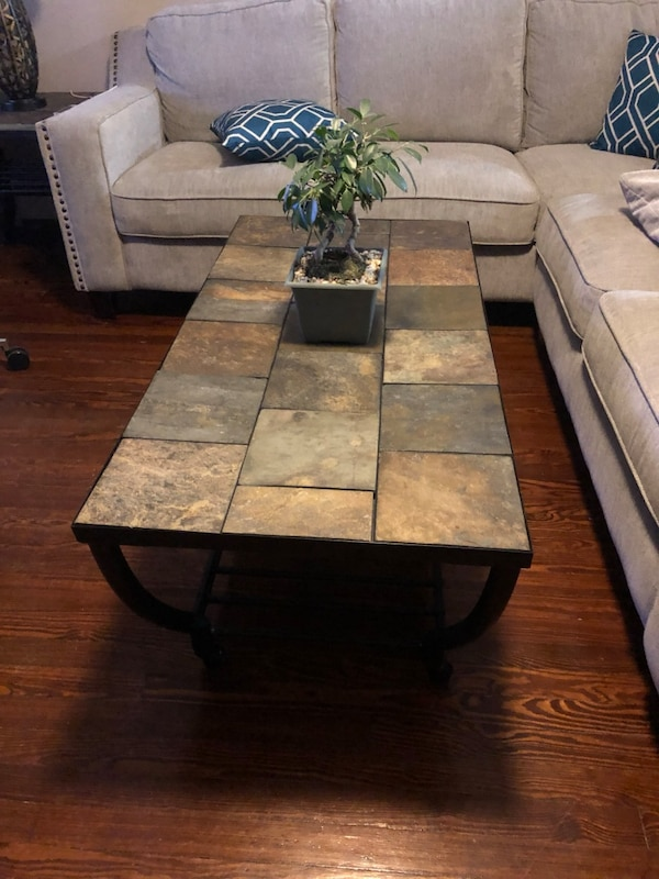 1 coffee table and 1end table