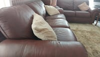 3 pc Genuine leather couch