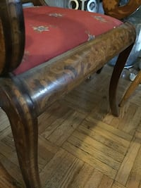 One chair . Antique inlay  Toronto, M5R 2G3