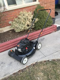 Lawn mower brand new