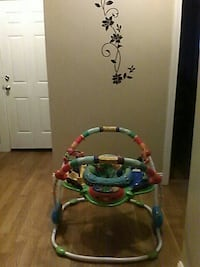 multi-colored animal-themed jumperoo Beverly, 01915