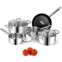 Viewee Cookware Sets Nonstick Pots and Pans Sets 1 Pikesville