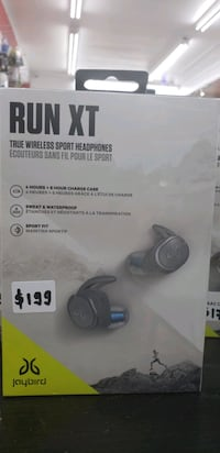Jaybird Run XT - wireless Bluetooth earbuds - brand new sealed #30rex Toronto, M9W 5Z3