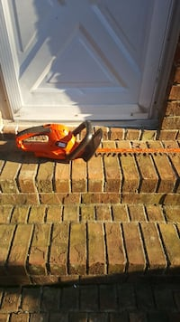 Electric Black & Decker hedge clippers