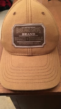 brown Bass Pro Shops fitted cap