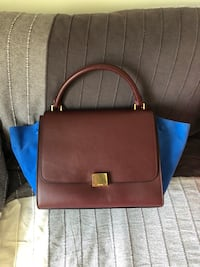 Moving sale: Celine leather purse with strap Richmond Hill