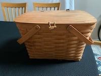 1993 Longaberger picnic basket  Downingtown, 19335