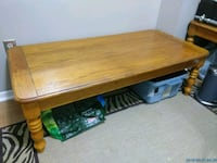 Rectangular wooden coffee table Mississauga, L5A 3R1