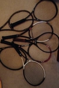 Tennis Rackets Wilson and Prince great condition 10$ a piece or 60$ for all 7 Vanceboro, 28586