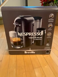Nespresso Vertuo Plus. Never opened Rockville, 20850