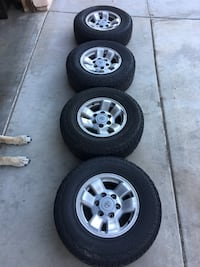 01 Toyota 4Runner wheels + spare tire! Palmdale