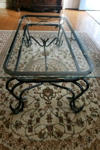 Glass Coffee Table Set With Metal Legs  Gaithersburg, 20886
