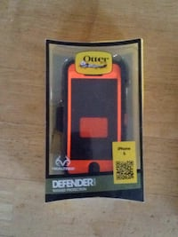 black and red Otterbox iPhone case Forest Hill, 21050
