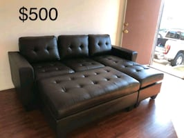 New Couch with ottoman and Chaise only $50 down