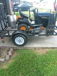 Tralior and riding mower