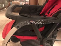 baby's black and red Chicco stroller New Delhi, 110014