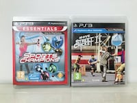 two Sony PS3 game cases Chandigarh, 160023