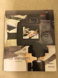 Managerial Accounting for Managers (3rd edition) Gainesville, 20155