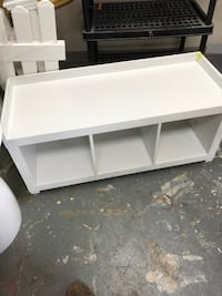White Cubby for TV Gaithersburg