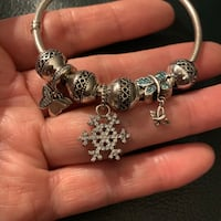 Solid sterling silver charm bracelet sell as a whole set Henrico, 23238