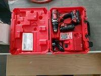 red and black Milwaukee power tool set Toronto, M1H 2V2