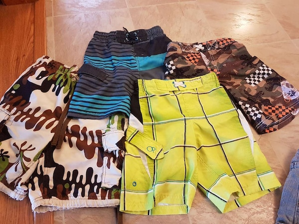6b174d465f733 Used Boys swim trunks 4 pairs for sale in Kenner - letgo