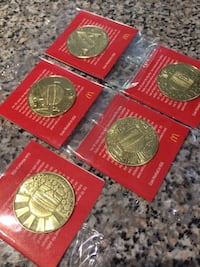 MacCoins - full set of 5. New Westminster, V3M 3K8