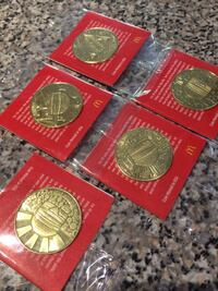 MacCoins - full set of 5.